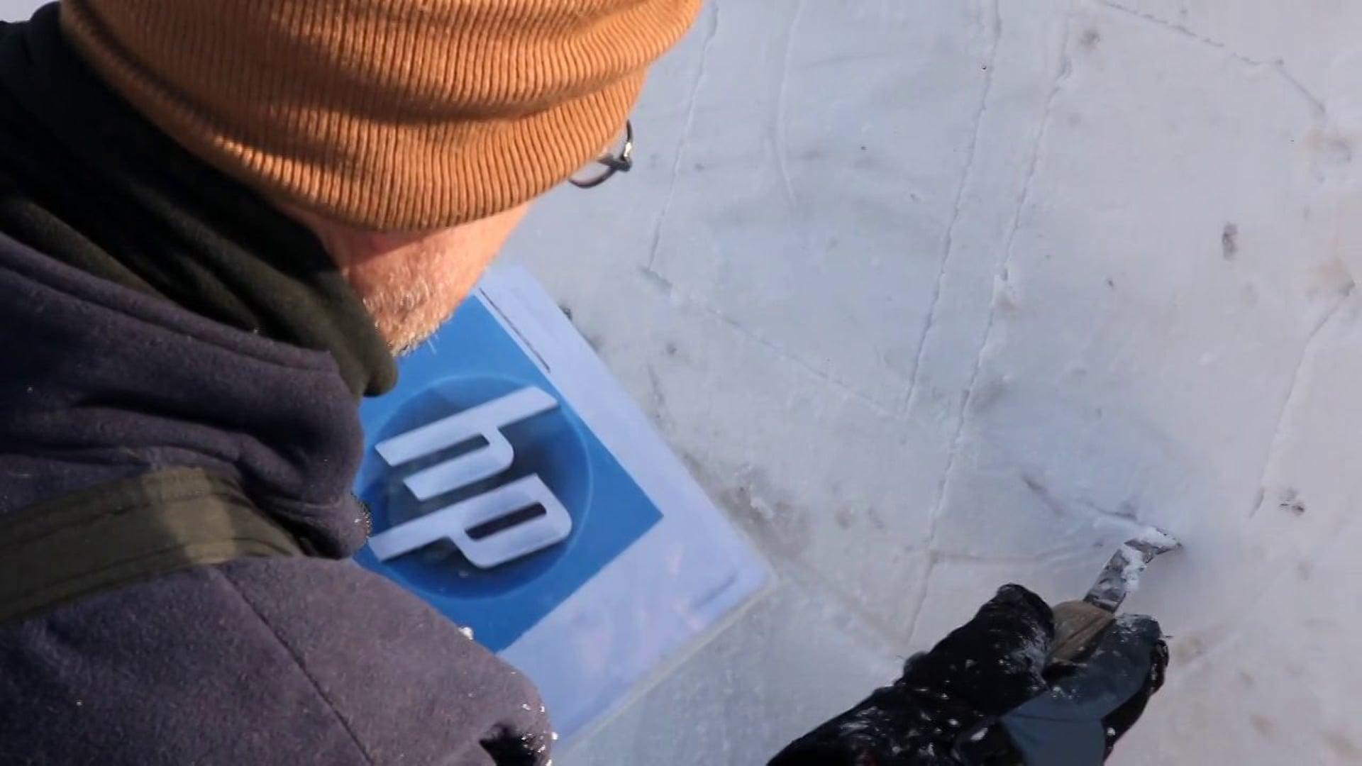HP - Snow Sculpting Video