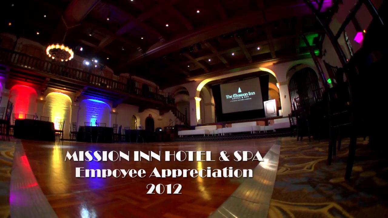 Mission Inn Hotel & Spa Employee Appreciation Banquet 2012