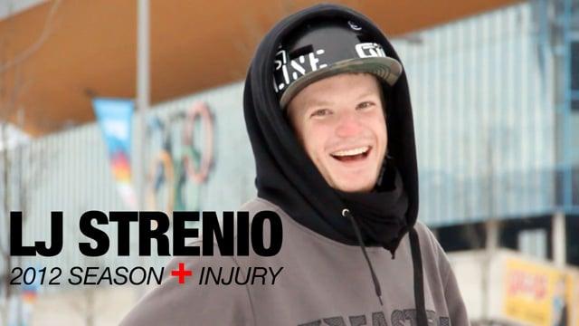 LJ Strenio 2012 Season + Injury from Line Skis