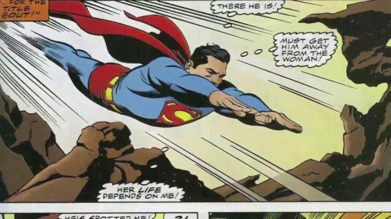 Superman hulk cue.