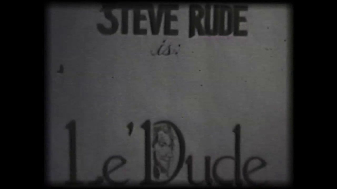 """Le Dude from """"Rude Dude"""""""