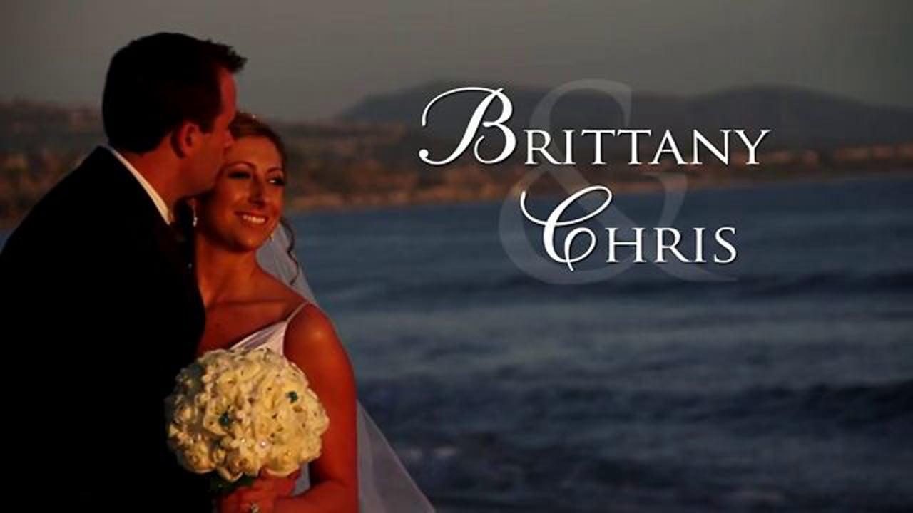 Brittany & Chris Same Day Edit Wedding Video Laguna Cliffs Marriott, Dana Point