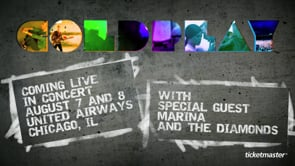 Coldplay Live! - Student Project