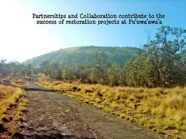 """2013_09. Dr. Elliott Parsons  """"Partnerships & Collaboration contribute to the success at Pu'uwa'awa'a"""""""