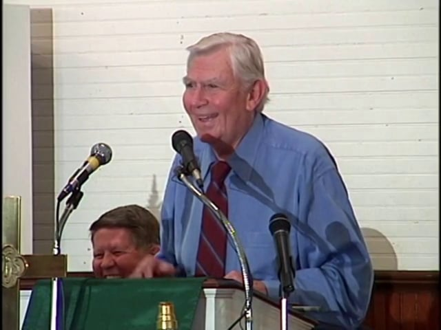 Andy Griffith at Daniels Day