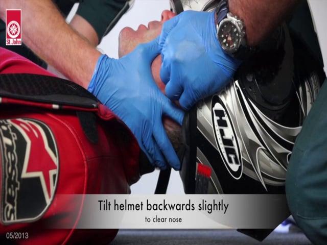 Helmet Removal (VIDSKILL009)