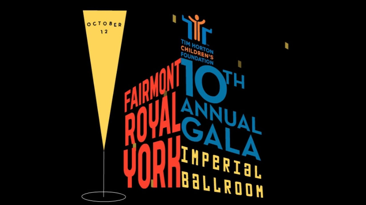 Tim Horton Children's Foundation Gala evite