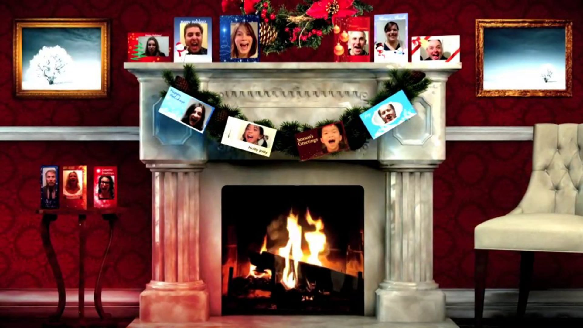CHILLER Holiday Card