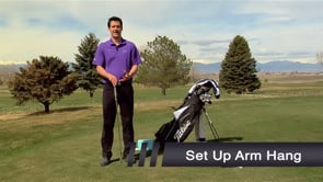 Arm Hang - Set Up Distance From The Ball