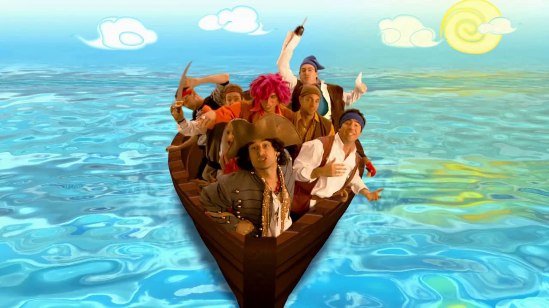 The Dirty Sock Funtime Band - The Treasure of Pirate Bligh
