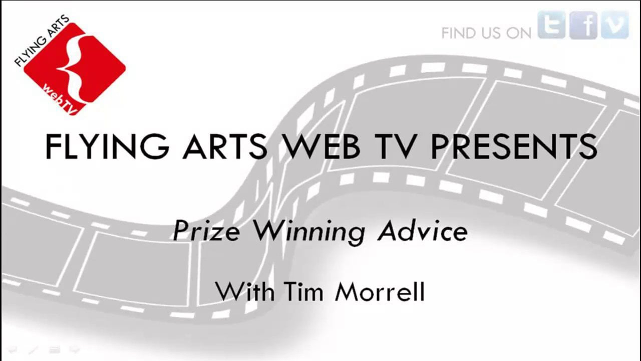 Prize Winning Advice from Tim Morrell