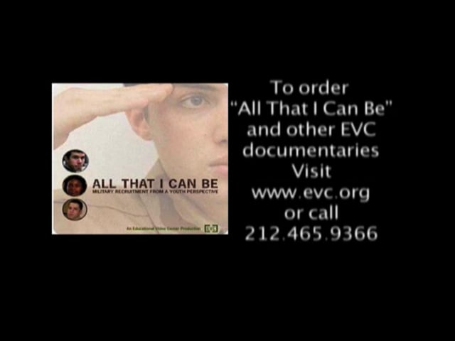Trailer: All That I Can Be