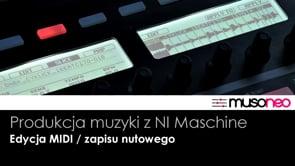 Edycja MIDI a zapis nutowy