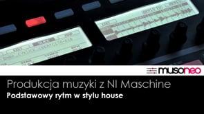 Podstawowy rytm w stylu house