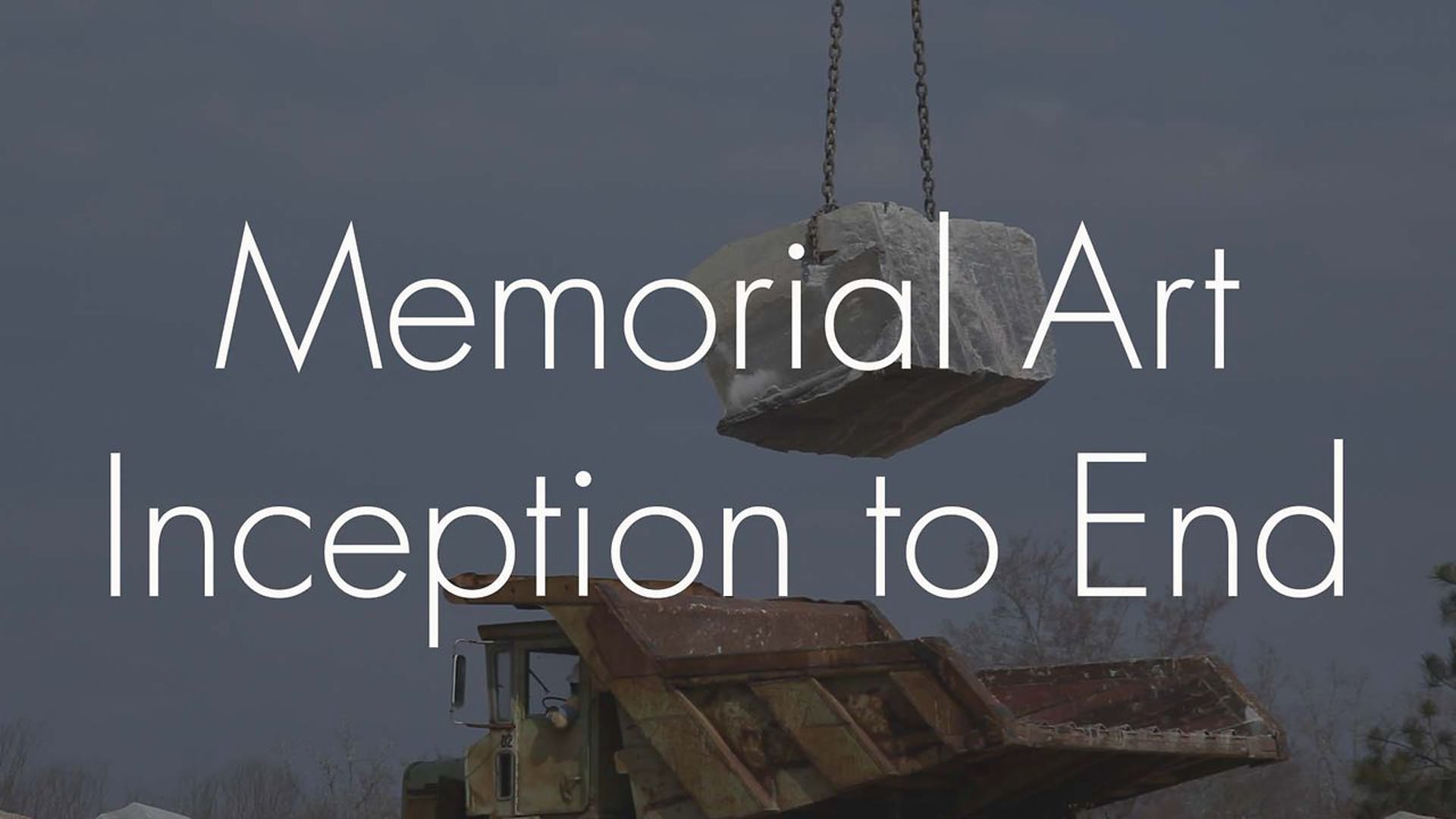 Memorial Art - Inception to End