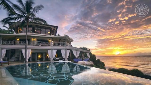 Video post format: Luxury beach villas