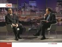 Interviewing Carlos Ghosn on CNN (2013)