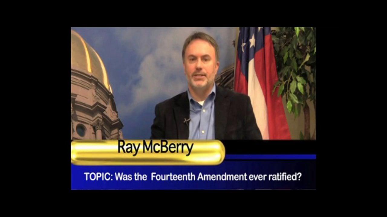 John Ainsworth & Ratification of 14th Amendment