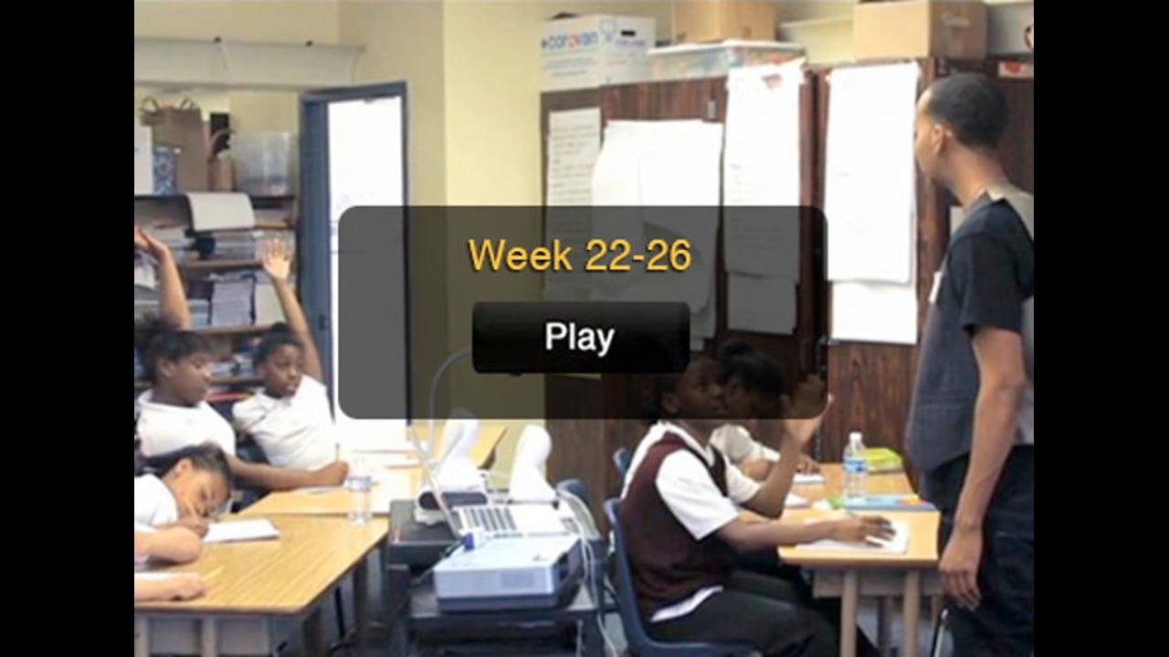 PAW CJ Week 22-26