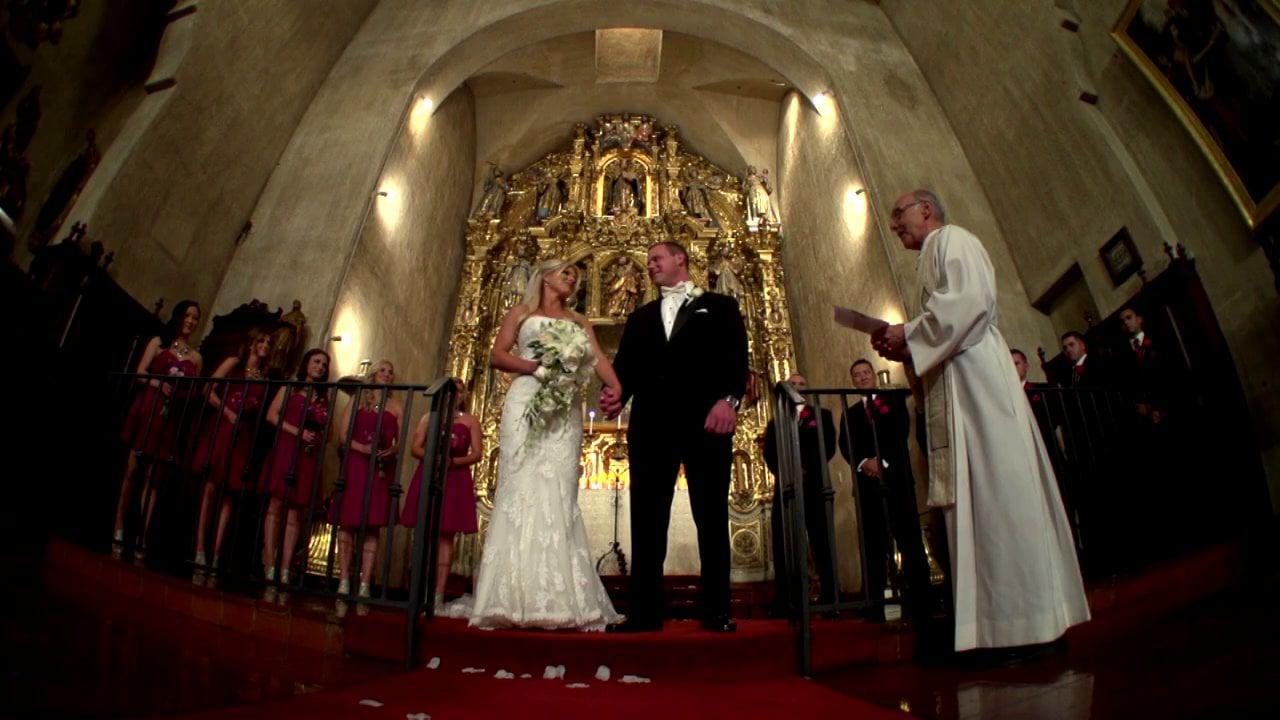 Mission Inn Same Day Edit Wedding Video and DVD Distribution for Anna & Jonathon