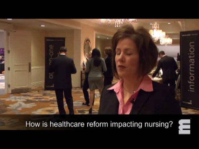 National Healthcare CNO Summit - Interview: Kelly Hancock, Cleveland Clinic Health System