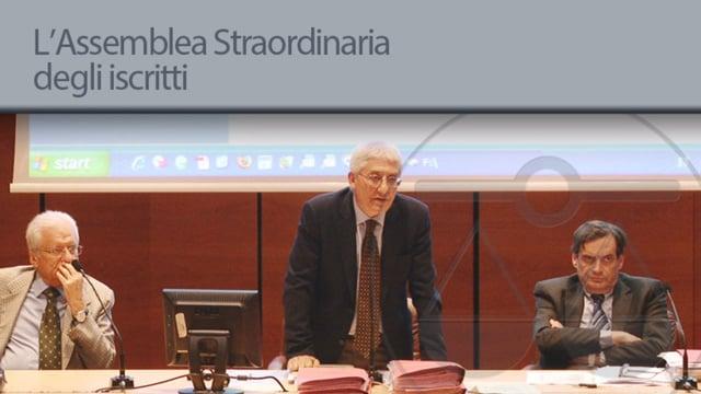 Assemblea Straordinaria degli Iscritti - 5/6/2013