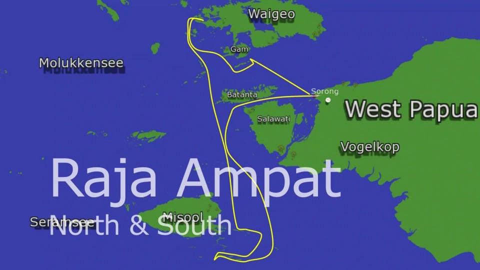 Amira Touren: Raja Ampat North & South