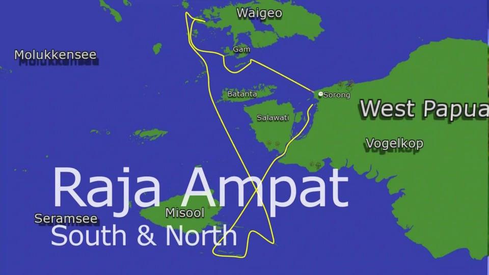 Amira Touren: Raja Ampat South & North