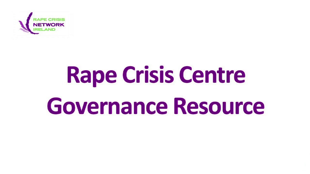 RCNI Governance Resource Podcast