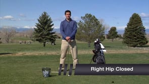 Right Hip Closed - Backswing Sway Training