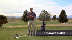 Thrower's Catch - Trail Hand Lag Drill