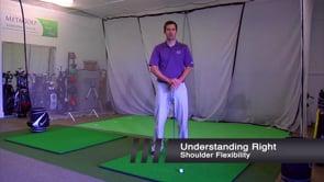 Right Shoulder Flexibility In Backswing