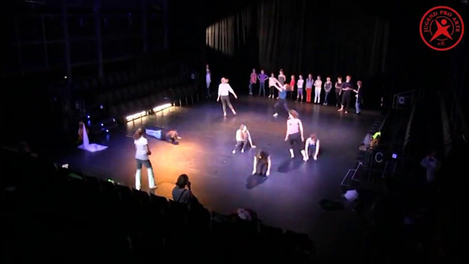 Die Schneekönigin: Backstage im Theater