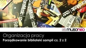 Porządkowanie biblioteki sampli cz. 2 z 2