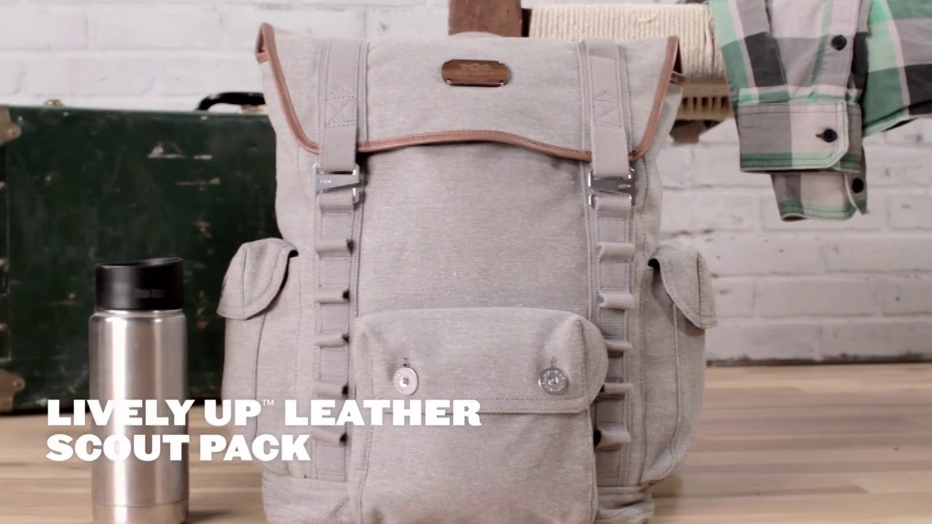 House of Marley Lively Up™ Leather Scout Pack