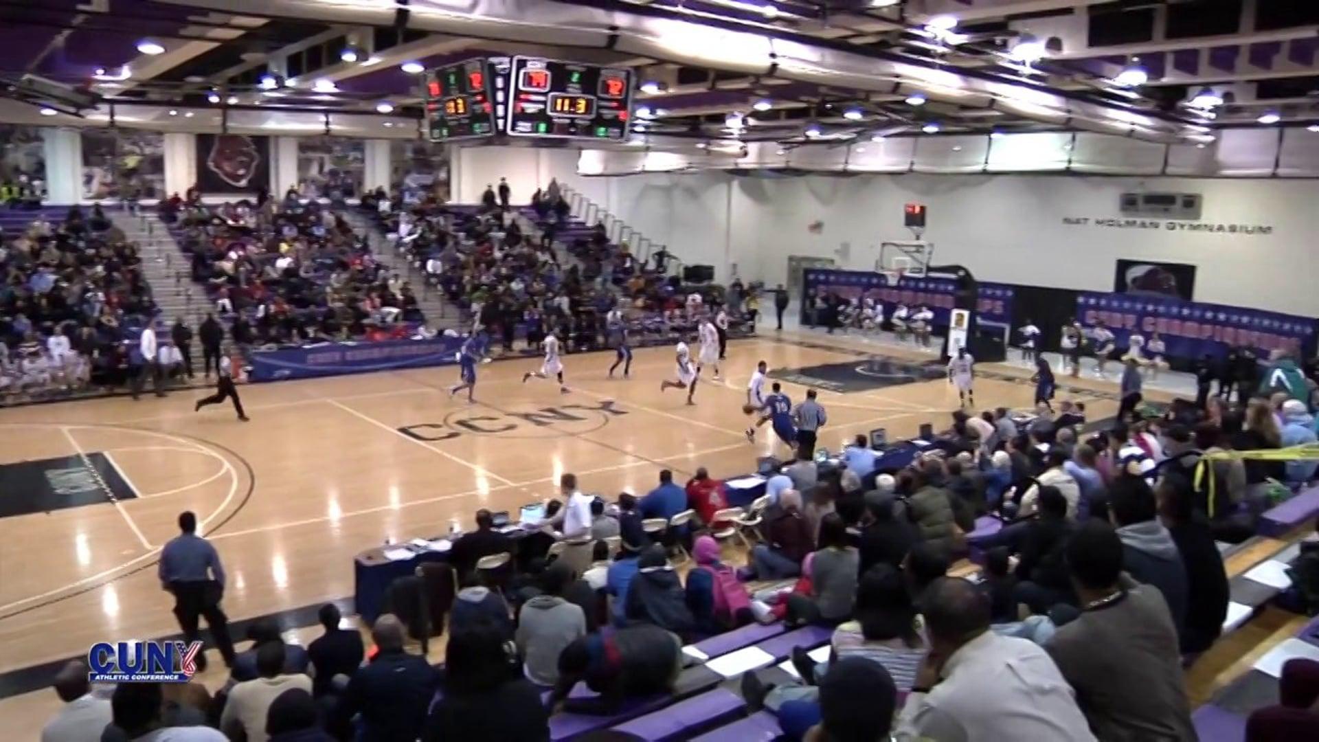 CUNYAC Basketball Highlights