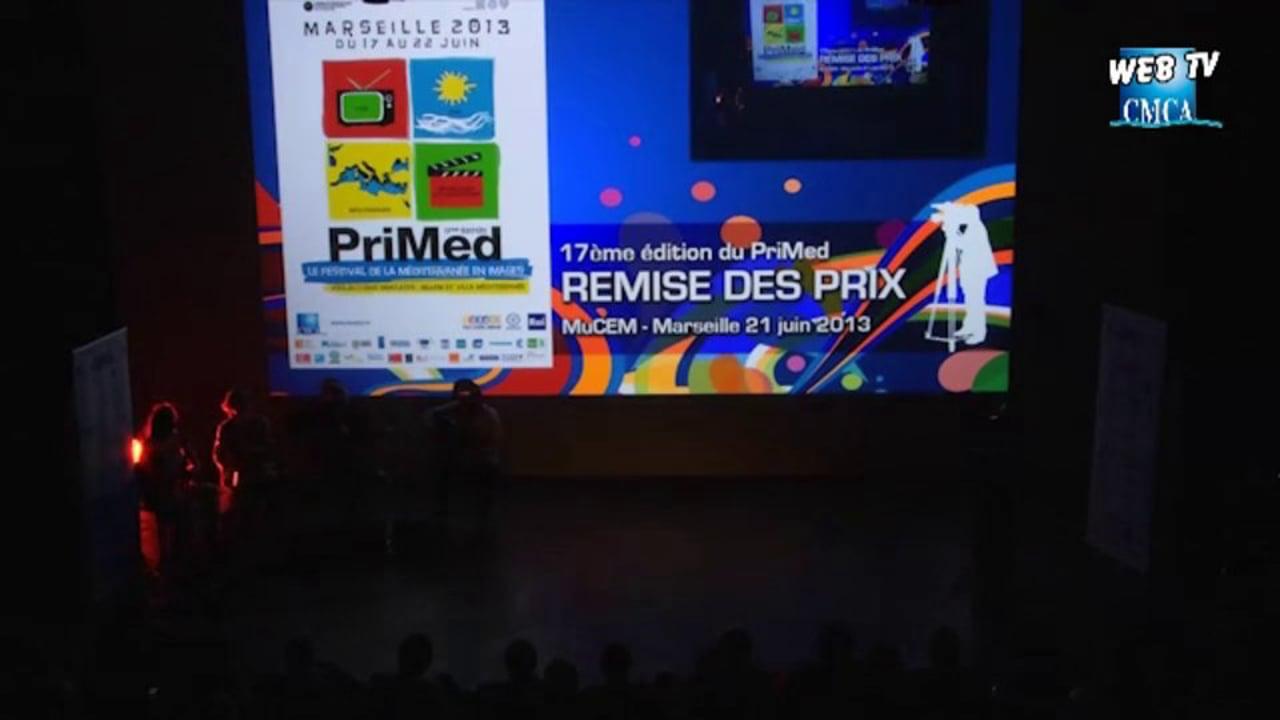 PriMed 2013 - REMISE DES PRIX