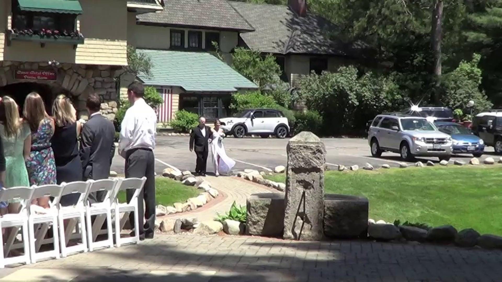 * Conway, NH Wedding DJ: Ceremony & Reception Video