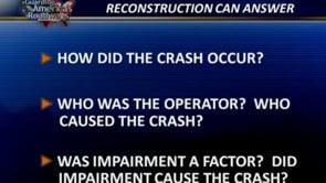 Role of Crash Reconstructionist