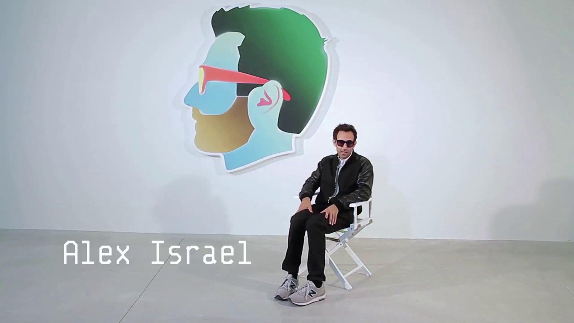 Portrait of an Artist - ALEX ISRAEL