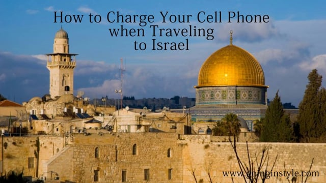 Israel Travel Adapter | Adapter Plug goinginstyle.com