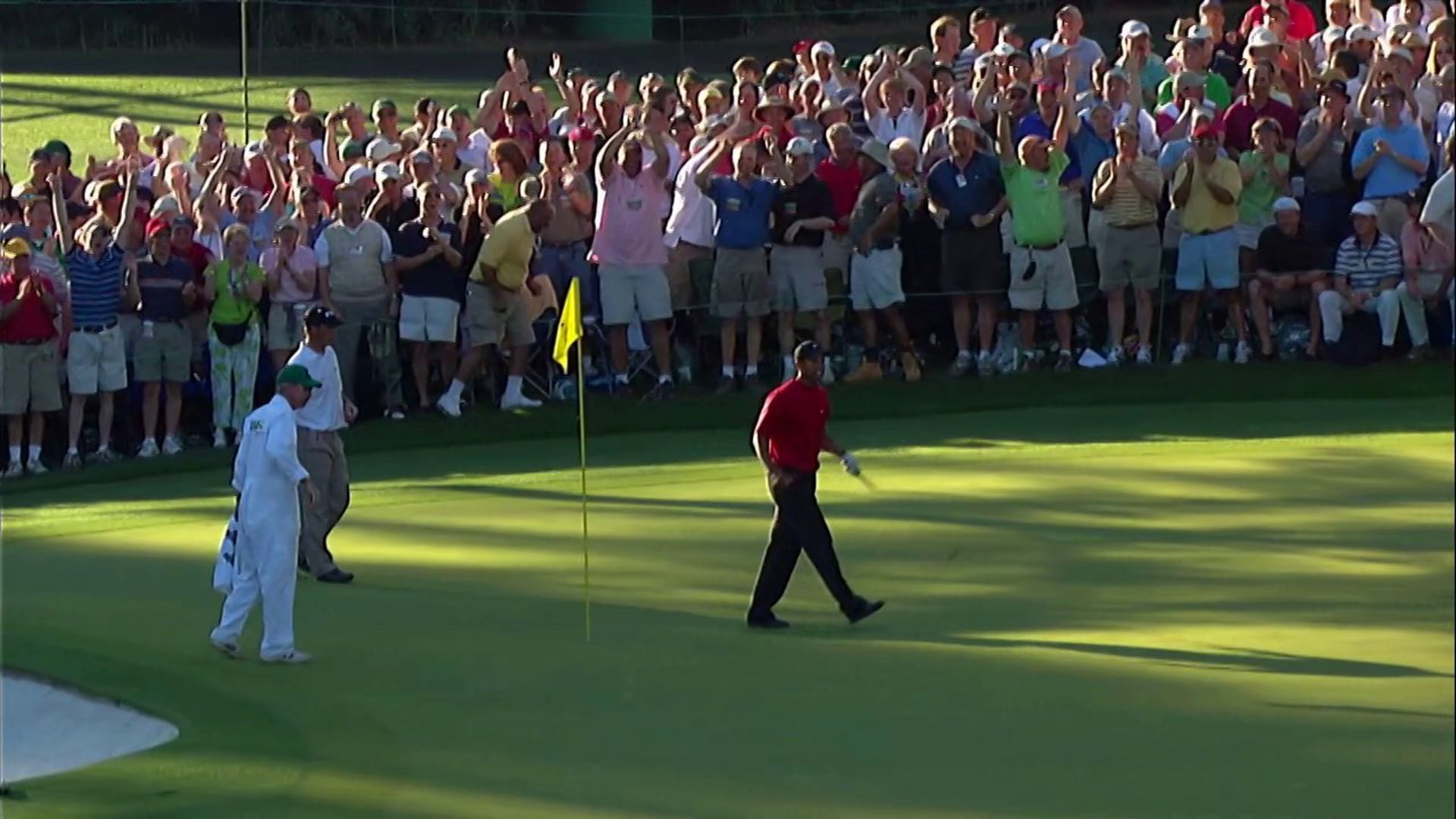 Verne Lundquist at the Masters