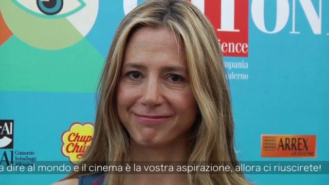 Giffoni Talks Mira Sorvino