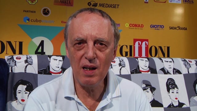 Giffoni Talks Dario Argento