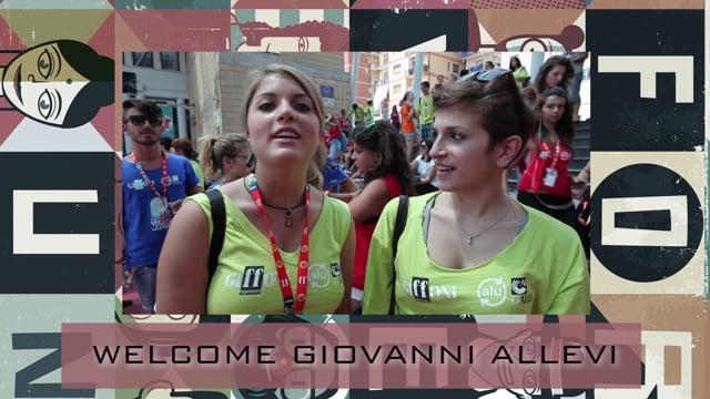 Welcome Giovanni Allevi