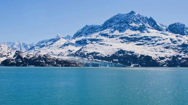 Alaska Glaciers and Mountains