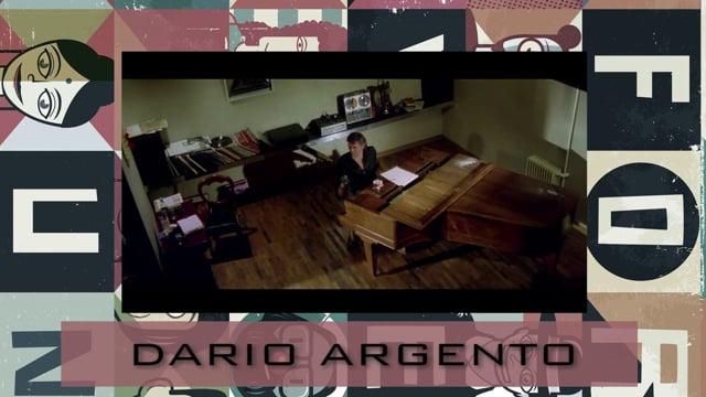 Welcome Dario Argento