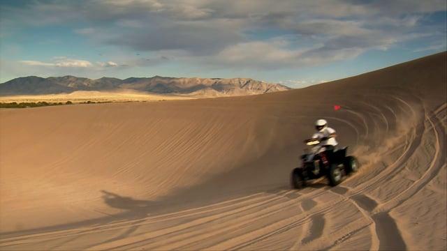 ATVs on Sand Dunes