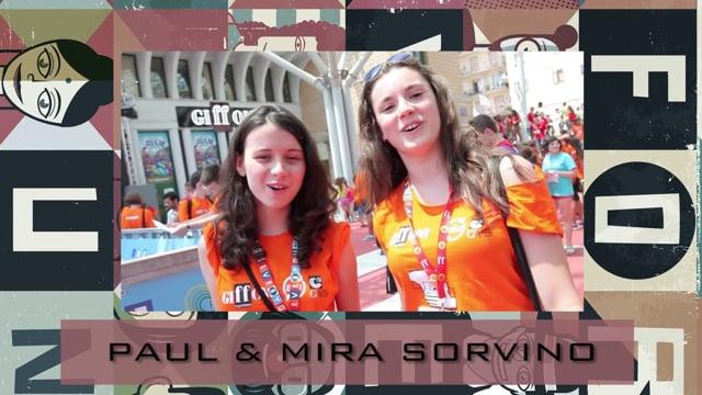 Welcome Paul & Mira Sorvino