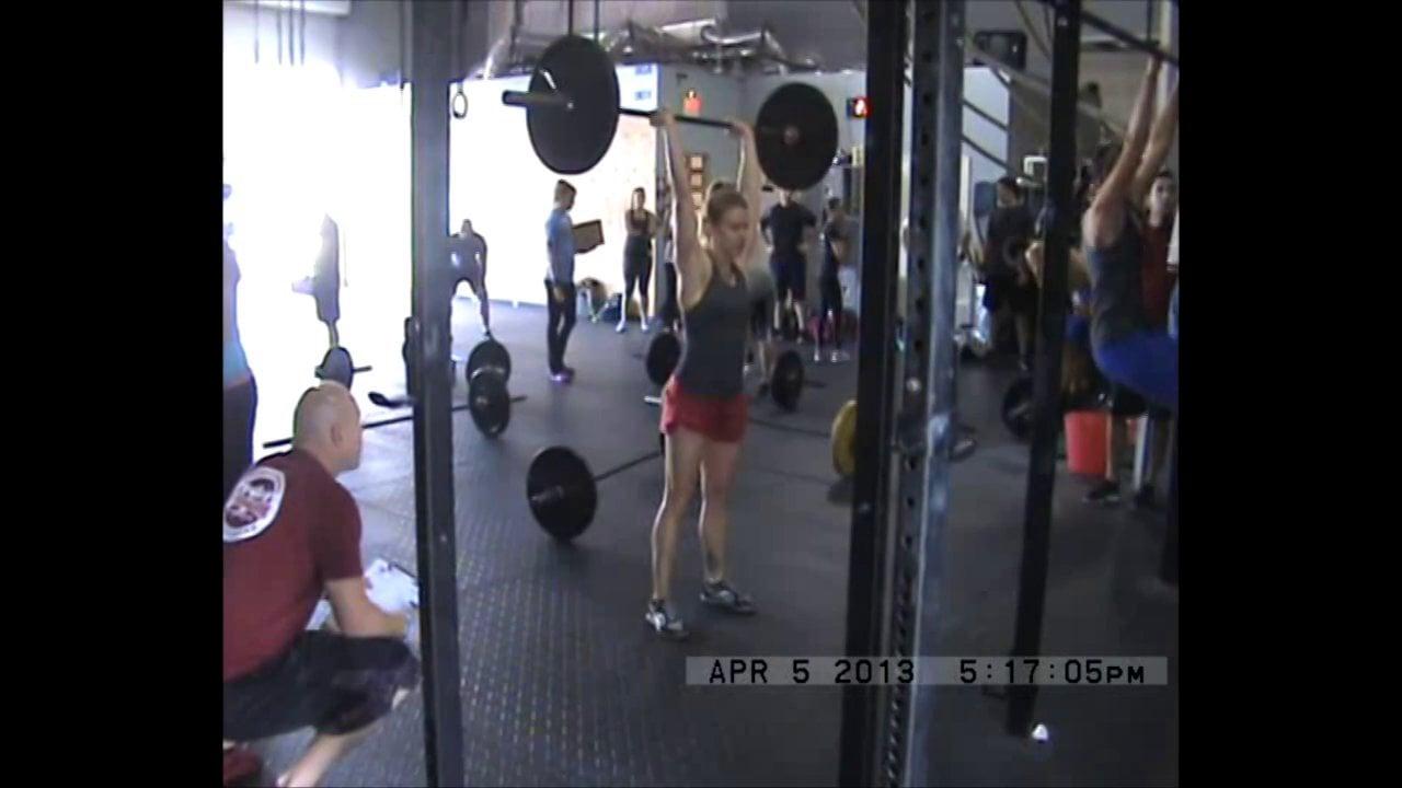 13.5 CrossFit Open